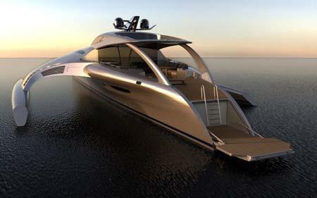 تصویر مجلل ترین قایق تفریحی دنیا
